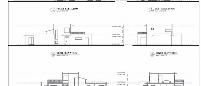 Elevations Contemporary Villa